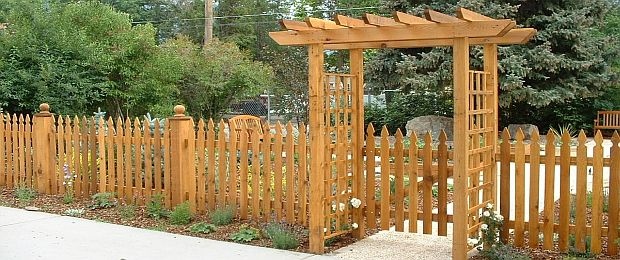 Wood fences charlotte fencing company inviting entrances workwithnaturefo